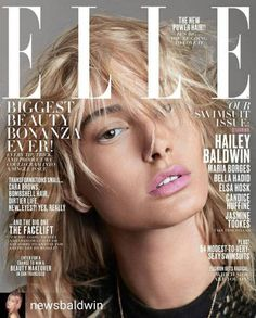 Hailey Baldwin in Elle USA May 2027