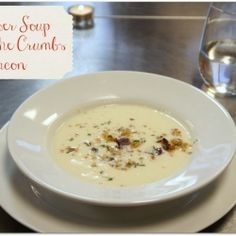 Cauliflower Soup With Bacon recipe