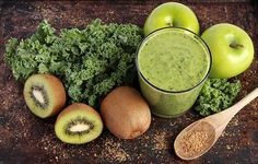 Green Smoothie Made With Kale