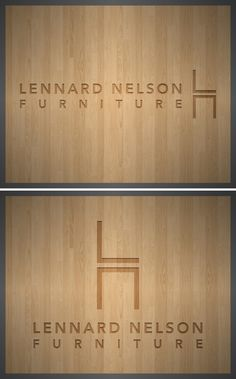 Lennard Nelson Furniture Branding by Homer Gaines, via Behance