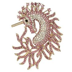 Luxury Horse Unicorn Brooch Pink Austrian Crystal EVER FAITH http://www.amazon.com/dp/B00AFCL4IA/ref=cm_sw_r_pi_dp_WUXJwb04NF2KZ