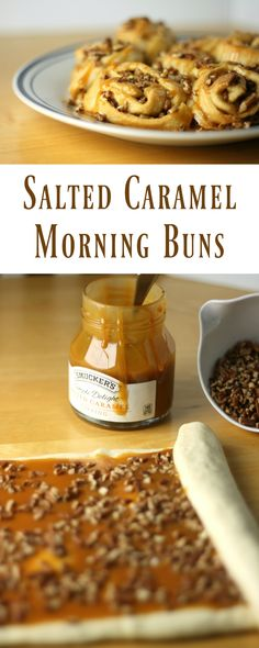 Simple Salted Caramel Morning Buns
