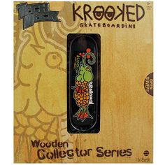 Tech Deck Wooden Collector Series [Mark Gonzalez - Krooked]