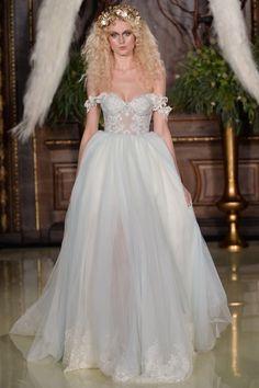 Beautiful of the shoulder garden dress