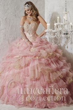 Aliexpress.com   Buy Romantic 2016 Quinceanera Dresses Ball Gowns Organza  Sweetheart Beaded Crystals Vestidos De 15 Anos Cheap Quinceanera Gowns ID92  from ... ab69e3edfb4b