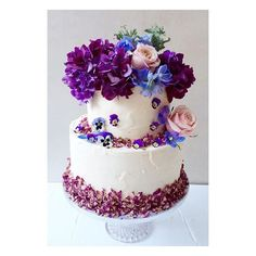 Purples, blues, pinks ☮ Lily Vanilli