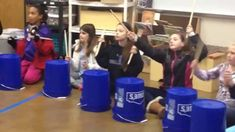 """This is """"Christmas Bucket Drumming"""" by Kristen Eriksen on Vimeo, the home for high quality videos and the people who love them. Elementary Music Lessons, Music Lessons For Kids, Music Lesson Plans, Drum Lessons, Music For Kids, Piano Lessons, Kids Songs, Elementary Teacher, Cardio Drumming"""