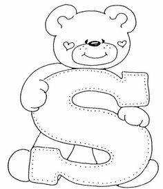 Applique. Alphabet with bears .. Discussion LiveInternet - Russian Service Online Diaries