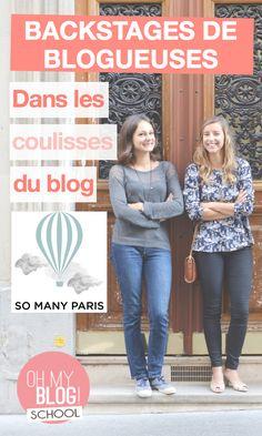 On vous embarque dans les backstages du blog So Many Paris pour découvrir l'envers du décor et les petits secrets de Clara et Constance ! Rdv sur www.blogschool.fr