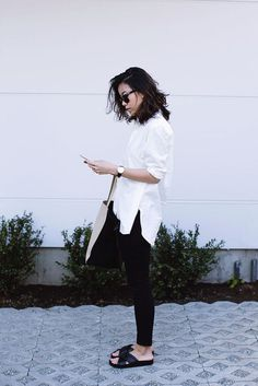 Perfect Oversized White Button-Up