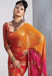 lovely party saree