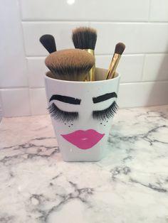 A personal favorite from my Etsy shop https://www.etsy.com/listing/271943644/kisseyelash-make-up-brush-holder