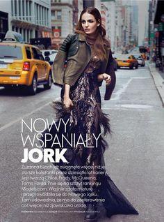 Wonderful New York: #ZuzannaBijoch by #KevinSinclair for #EllePoland October 2013