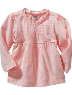 Lace-Trim Tops for Baby