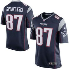 New England Patriots Rob Gronkowski Nike Men's Navy Blue Game Jersey [Call-To-Order]