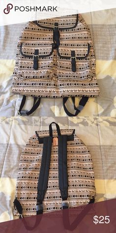 TODAY ONLY SALE Tribal backpack Never used. Has multiple pockets inside. Mudd Bags Backpacks