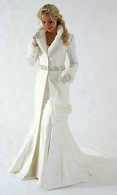 Custom made winter warm wedding coat Faux Fur Trim Long for Bride Winter Wedding wrap Cape coat wedding accessories