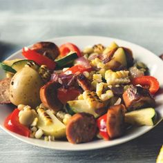 This spicy succotash is the perfect way to show off those beautiful veggies you've grown!
