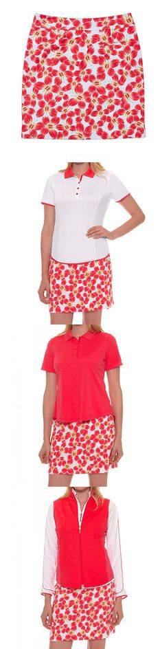 Skirts Skorts and Dresses 179003: 2016 Greg Norman Ladies Butterfly Print Knit Golf Skort New -> BUY IT NOW ONLY: $34.99 on eBay!
