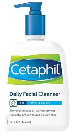 Cetaphil Daily Facial Cleanser for Normal to Oily Skin, Gentle Face Wash for Sensitive Skin, 16 oz Brown Spots On Face, Dark Spots, Cetaphil, Face Cleanser, Anti Aging Skin Care, Oily Skin, Sensitive Skin, Organic Skin Care, Organic Baby