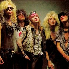 "September 1991 - Guns 'N' Roses release ""Use Your Illusion I & II"" at midnight. Guns And Roses, Big Hair Bands, Hair Metal Bands, James Blunt, Axl Rose, Metallica, 80s Hair Metal, Duff Mckagan, Glam Metal"