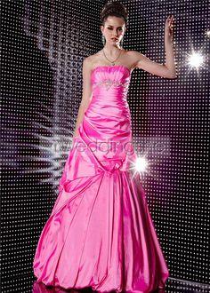 Amazing Strapless Floor Length Evening/Prom Dresses : Weddingshe.com