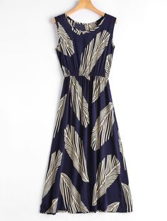 GET $50 NOW | Join Zaful: Get YOUR $50 NOW!http://m.zaful.com/leaf-print-sleeveless-midi-dress-p_309841.html?seid=0e7jkepuhuoiqscl078i1pg704zf309841