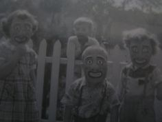 Nightmares. Absolute nightmares. 1940s Halloween - nightmares forever.