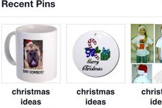 pinterest is a great way to show items and other links  http://www.cafepress.com/blamemyparents