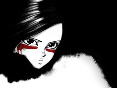 """Gally from """"Battle Angel"""". One of my top 5 favourite Anime movies. Huge fan of the big eye anime"""