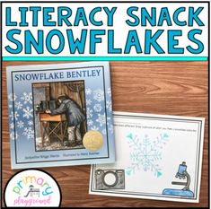 Literacy Snack Idea Snowflakes Each week I post a new literacy snack idea on my blog. Each includes a snack idea along with a free printable to go along with the book. Please visit me at primaryplayground.net to get all of the details of each weeks idea. ************************************************************************ You may also like these other