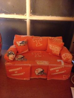 My Tennessee Couch made with a Brick