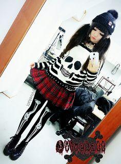 frillypinkdreams:  myobiyuki:  d0ku—chan:  vivekatt:  Ootdψ(`∇´)ψ  You are my new favourite person ;;   Viviiii ;3; you perfect humanbeing you <3