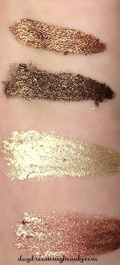 Milani Fierce Foil Eyeshadows Florence quad via daydreaming beauty
