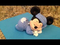 Mickey Mouse Sleeping Cake Topper - YouTube