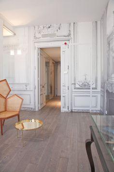 La Maison Champs Elysees Paris ***** | Hotel Martin Margiela | Guilded Lounge Suite