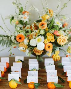Orange is often described as the color of creativity and joy, which proves that this shade is a very wedding-appropriate option. Beyond its symbolism, orange is also a color that is surprisingly complementary to many different wedding themes and venues. Wedding Reception Seating, Wedding Table Numbers, Wedding Menu, Wedding Themes, Diy Wedding, Wedding Decorations, Wedding Ideas, Orange Wedding Centerpieces, Unique Wedding Colors