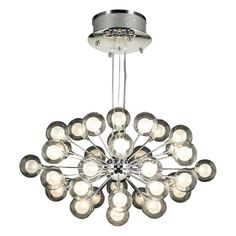 View the PLC Lighting PLC 72108 Thirty-Seven Light Decorative Chandelier from the Coupe Collection at LightingDirect.com.