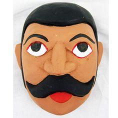 Kolam Theater Mask - Scribe (33)