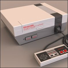 the original Nintendo, man they have come a long way since then :)