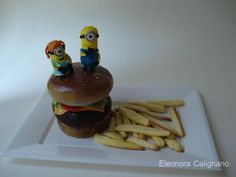MinionMallows  - Cake by Eleonora Calignano