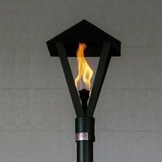 Automated Remote Controlled Lantern Style Tiki Torch décor ideas Lighting