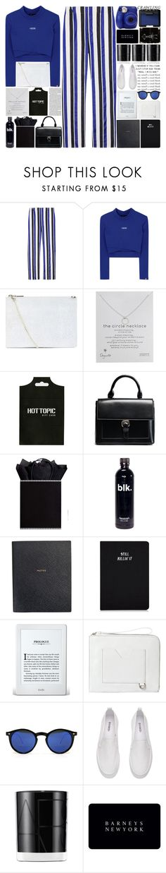 """6347"" by tiffanyelinor ❤ liked on Polyvore featuring Marni, Whistles, Dogeared, Olsen, The Gift Wrap Company, Smythson, Bellebas, Spitfire, NARS Cosmetics and Barneys New York"
