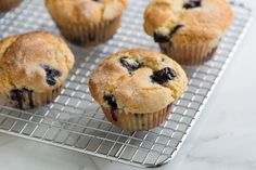 Our Favorite Easy Blueberry Muffin from www.inspiredtatse.net #recipe