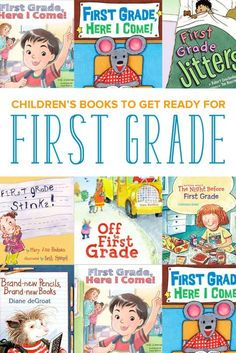 A selection of the best children's books all about first grade. Reading about first grade will help your student prepare for class. Read these picture books with your child as you get ready to go back to school!