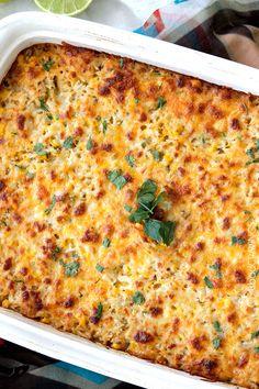 Salsa Verde Honey Lime Chicken and Rice Bake | http://www.carlsbadcravings.com/salsa-verde-honey-lime-chicken-and-rice-bake/