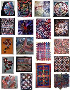 neck tie quilts!  great inspiration