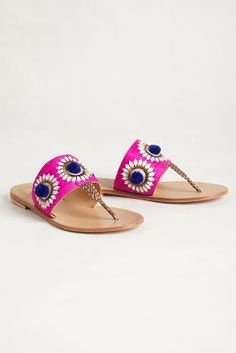 Needlework Sandals