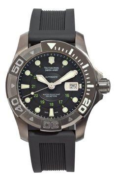 Victorinox Swiss Army Men's 241355 Dive Master Black Dial Watch: Watches: Amazon.com