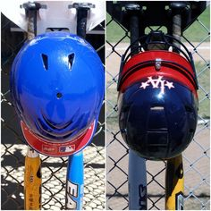 The DOM or the Transformer is the only product that gives you the different options to hang your helmet. The DOM comes with the same foam that all helmets have inside, where it can be stuck on the bottom of the helmet to make hanging easier.
